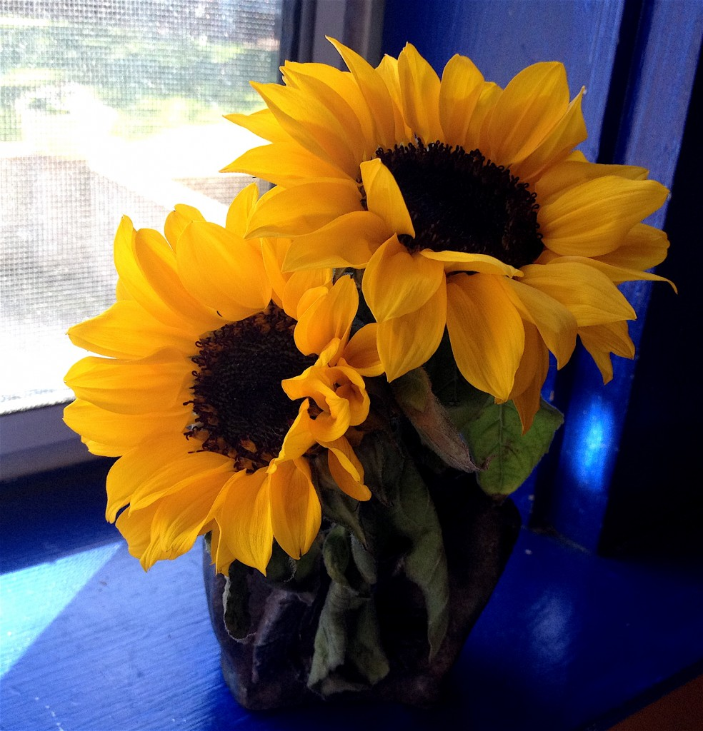 Honoring ourselves can bring sunflowery joy to our hearts!