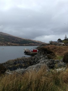 On the drive to Skye