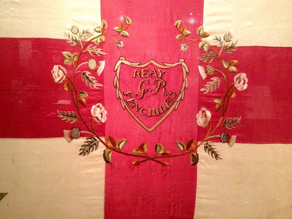 The pink allows us to come down from the cross of separation. The rose and thistle reunited as we come to know all as love.