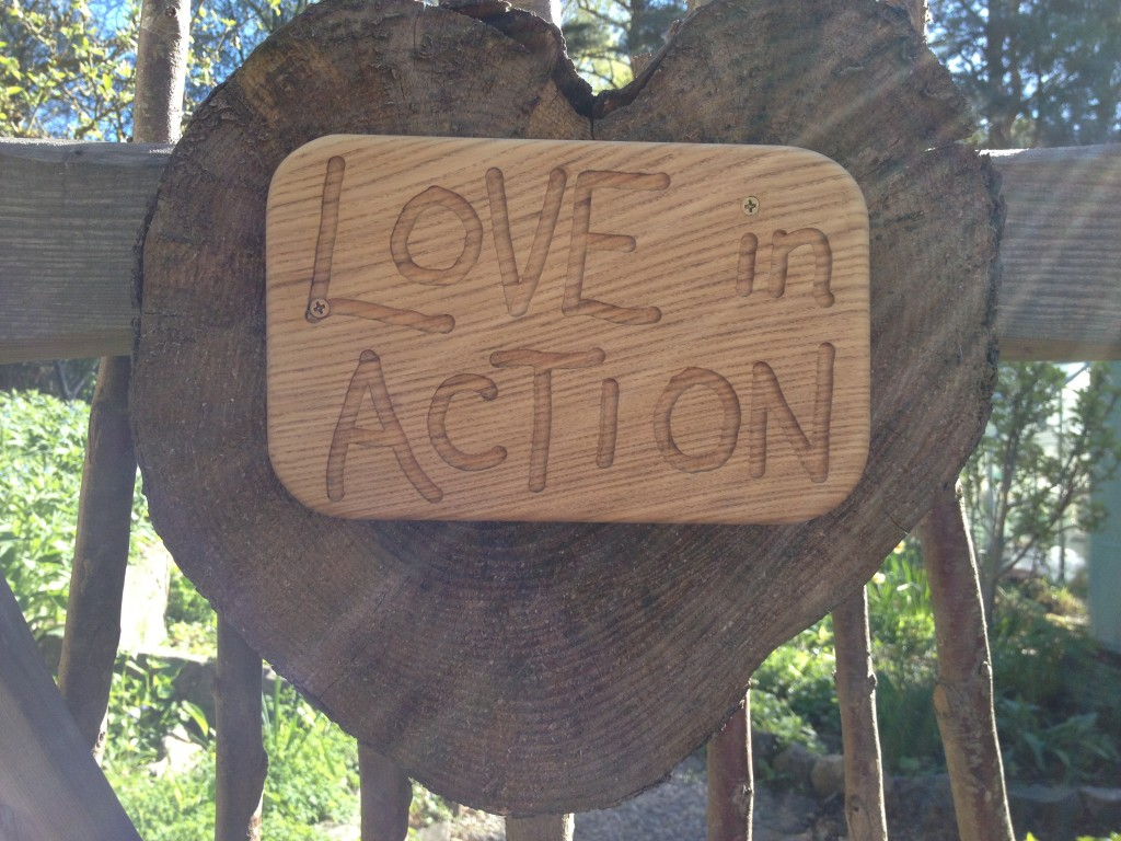 Mother Nature's love is always in action around us.