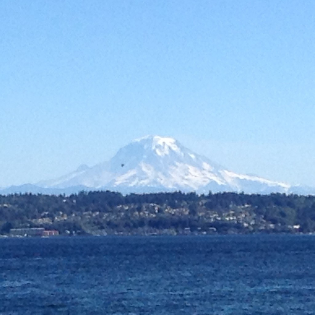 Mount Rainer taught me about strength and balance.