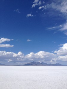 Great Salt Flats of Utah, wild place.